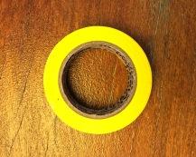 Fita Adesiva Amarela