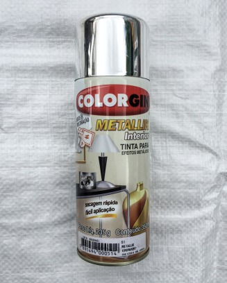 Tinta Spray Metallic